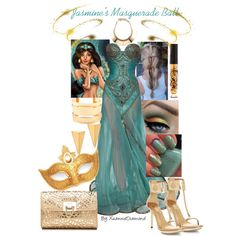 Jasmine's Masquerade Ball, created by xuanniediamond on Polyvore