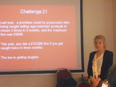 Challenge 25 Training days start at £275 for up to 20 people - less than £14 each on your premises: http://www.challenge25.co.uk/training.html Tel: 08712462750 #alcohol