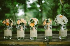 Bridal party #bouquets   #wvweddings #wvflorist