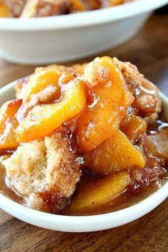 Fresh Peach Cobbler - Great Grub, Delicious Treats