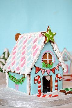 37 Gingerbreadhouses - 37 helt fantastiska pepparkakshus - Sköna hem