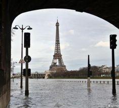 بالا+آمدن+سطح+آب+رودخانۀ+سن،+بخشهای+بزرگی+از+خاک+فرانسه+را+تهدید+میکند