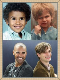 Shemar Moore and Matthew Gray Gubler