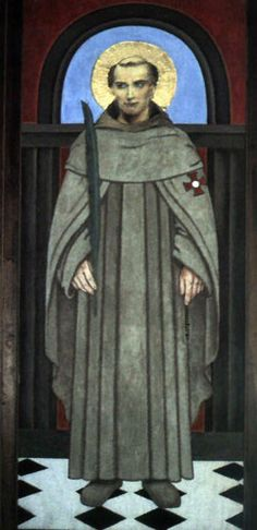 St. Richard Reynolds, Roman Catholic Brigittine monk & English Martyr, executed for refusing the Oath of Supremacy to King Henry VIII of England. He was martyred alongside the Carthusian priors John Houghton, Robert Lawrence, and Augustine Webster by drawing and quartering at Tyburn Tree in London after being dragged through the streets. martyred with them on that day was Blessed John Haile the parish priest of Isleworth.