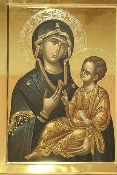 Religious Images, Religious Icons, Religious Art, Byzantine Icons, Byzantine Art, Mama Mary, Orthodox Christianity, Orthodox Icons, Virgin Mary