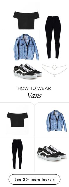 """DAY 5"" by paolapiavalentini on Polyvore featuring Levi's and Vans"