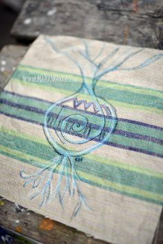 RESERVED  Roots   Vintage Stitching original by Maranghouse, $20.00