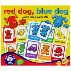 Buy Orchard Toys Red Dog Blue Dog Colour Match Game | John Lewis
