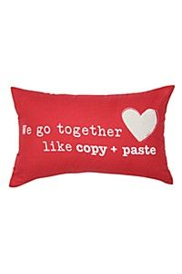 COPY AND PASTE CUSHION 30X50CM