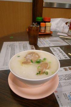 香港粥都熬得很綿,入口即化~     Chinese Porridge ( 粥 ) is delicious, and has many different flavors.