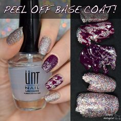 UNT Ready for Takeoff peel off base coat ~ review by simplynailogical