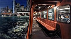 Photorealistic Paintings by Richard Estes