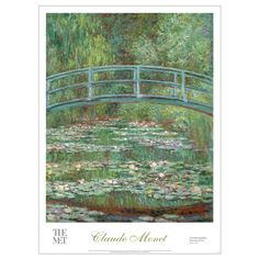 Claude Monet: Bridge over a Pond of Water Lilies Poster