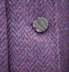 Donegal, Old And New, Herringbone, Tweed, Irish, Wool, Patterns, Purple, Crafts
