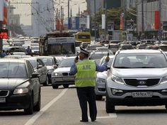 С 8 по 12 сентября движение автомобилей по центральным улицам Москвы будет…