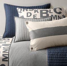 Ralph Lauren King Bedskirt Grey Haberdashery Bedding Collection