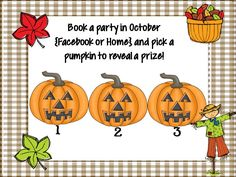 Book a Jamberry Facebook Party in October and pick a prize!  Facebook parties are fun, and I do all th work.  It's an easy way to earn free and 1/2 off wraps and products. Email me at teachermomof3@comcast.net if you are ready to party!