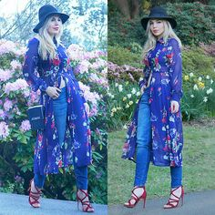 Get this look: http://lb.nu/look/7765608  More looks by Scarlett Vargas: http://lb.nu/scarlett_lvrd  Items in this look:  Fashionmia Shirt Dress, Just Jeans Au Jeans, Zara Shoes, Nine West Bag   #bohemian #casual #romantic #boho #shirtdress #floraldress #jeans #streetstyle #florals