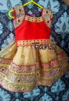 Kundan Work Cream Skirt