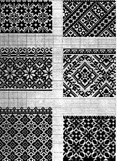 Cross Stitch Borders, Cross Stitch Flowers, Cross Stitch Designs, Cross Stitching, Cross Stitch Embroidery, Embroidery Patterns, Cross Stitch Patterns, Motif Fair Isle, Fair Isle Chart
