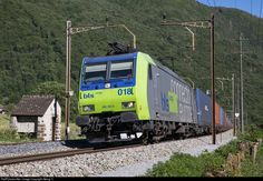RailPictures.Net Photo: 485 018 BLS Lotschbergbahn Re 485 at Claro, Switzerland by Georg Trüb