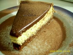 cheesecake ciocolata Romanian Desserts, Eat Dessert First, Cheesecakes, Tiramisu, Favorite Recipes, Sweets, Healthy, Ethnic Recipes, Bulgaria