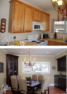21 best National Home Improvement Month Before   After Photos images     National Home Improvement Month Before After  19   apartment kitchen  converted to a single