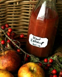 A great British chef shares her recipe for Hawthorn Berry Ketchup.