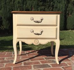 Ethan Allen Country French Nightstand Guest Suite Next At Home
