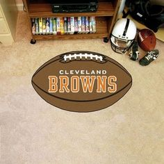 NFL Cleveland Browns Fanmats Football Rug