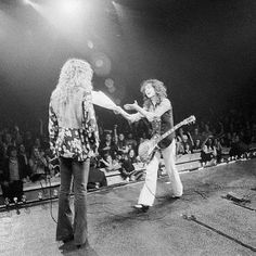 Robert Plant and Jimmy Page