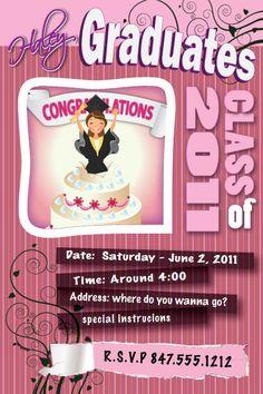 Haley's Graduation Party Invite