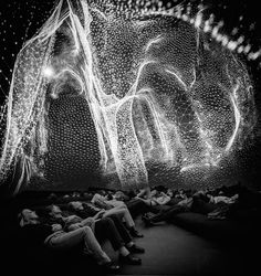 """""""Halos"""", technology and art project, links universe, nature & architecture (by Joanie Lemercier & James Ginzburg)"""