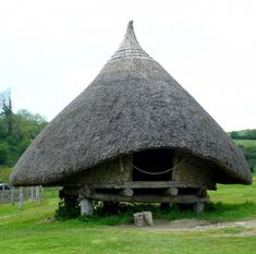 Iron Age, Castell Henllys, Wales, UK.