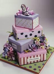 Krásný dívčí dort na narozeniny.