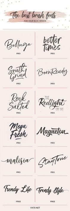 Ideas For Easy Art Doodles Hand Lettering Website Design, Design Blog, Web Design, Blog Logo, Marca Personal, Personal Branding, Boutique Logo, Typographie Fonts, Flower Truck