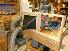 Woodworking Miter Saw Dust Hood for the Sliding Miter Saw -