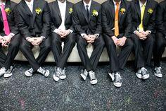 Carina's Groomsmen @ her wedding #seattleweddings