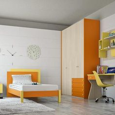 Some Ideas For The Kidsu0027 Room! BEDROOM ORANGEModern ...