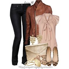 Cute Outfit for Ideas but that jacket is just too crazy expensive