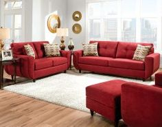 Living Room Furniture Sets American Freight Furniture Living Room Setsu2026 | Living  Room | Pinterest | Red Couches, Couch Set And Living Room Sets Part 97