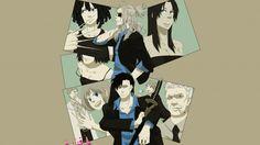 Download GANGSTA Anime 4k Wallpaper Characters 3840x2160