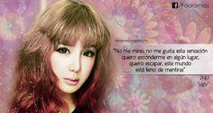 """2NE1 """"Frases de canciones de 2NE1"""""""