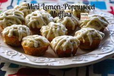 Mini Lemon Poppy Seed Muffins