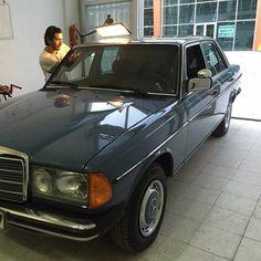 W123 limo