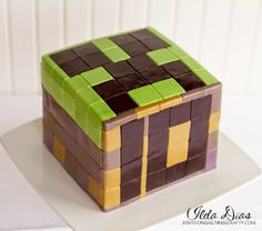 (I) (L)ove (D)oing (A)ll Things Crafty!: Minecraft Cake