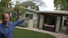Architect Richard Jones, remodeled and expanded his house and in the process it became the only Certified LEED Platinum house in South Florida. Richard Jones, Environmental Design, Funny Shit, Buildings, Commercial, Industrial, House, Real Estate, Money