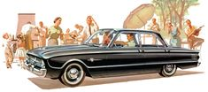 1960 Frontenac, sold by Canadian Mercury dealers. Replaced in 1961 by the Comet