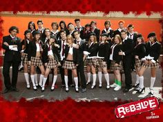 REBELDE- I have all the seasons on DVD!:) I loved the novela and I loved them as a band that I had all their CDs as well