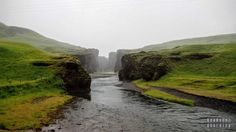 Kanion Fjaðrárgljúfur, Islandia  Iceland with #readyforboarding #Iceland #Islandia #blogtrotters #blogtroterzy #travel #podróże #advice #porady Iceland, Waterfall, River, Outdoor, Ice Land, Outdoors, Waterfalls, Outdoor Games, The Great Outdoors